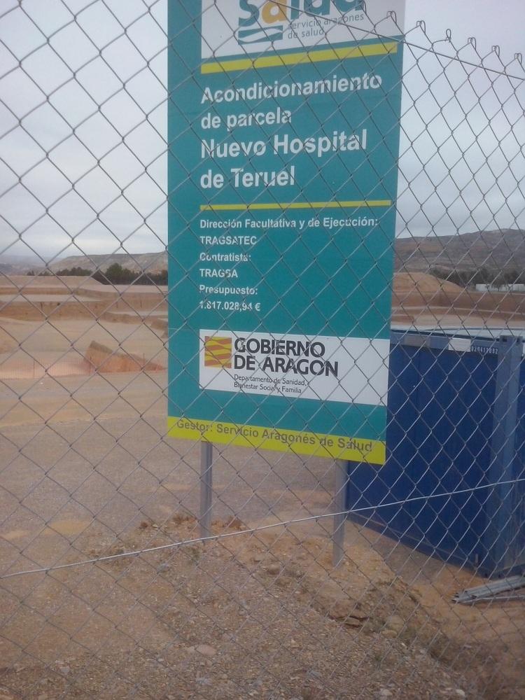 cartel mov. tierras hospital