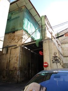 Final del túnel calle de San Miguel
