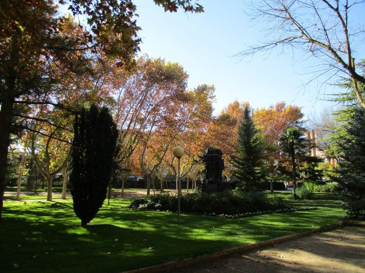 Otoño en Teruel. Parque Los Fueros (2)