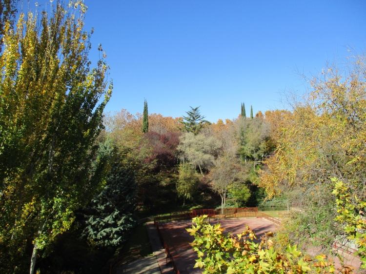 Otoño en Teruel.  Parque Los Fueros