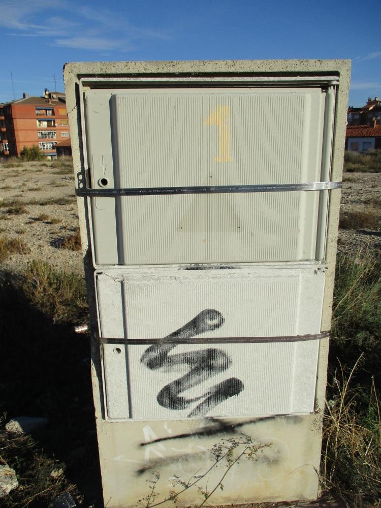 Casetas electricidad protegidas con tirantes