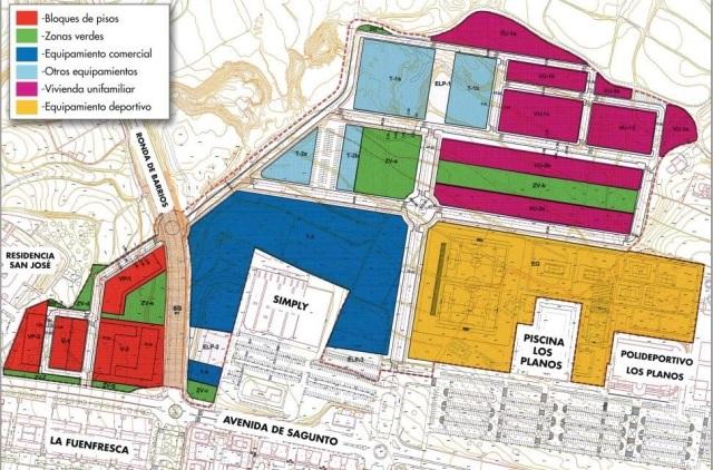 Plan parcial Los Planos Diario de Teruel