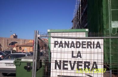 El nuevo edificio que sustituyó a las antiguas viviendas. Gonzalo Ruiz