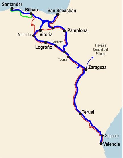 Corredor Cantábrico-Mediterráneo por Teruel