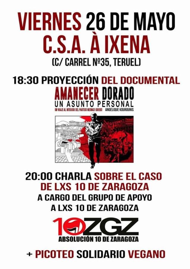 Acto Viernes CSA A Ixena