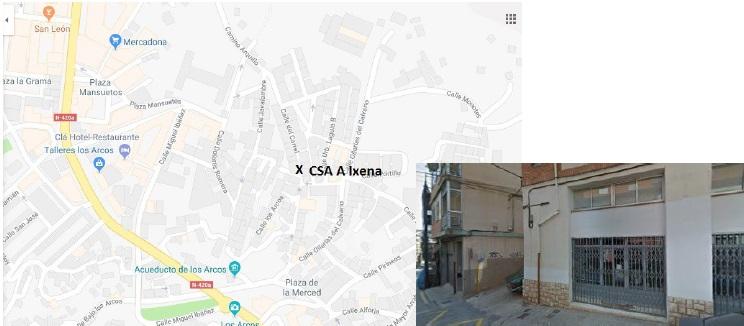 localizción CSA A Ixena