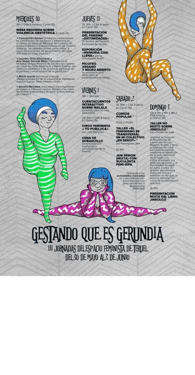 Jornadas espacio feminista